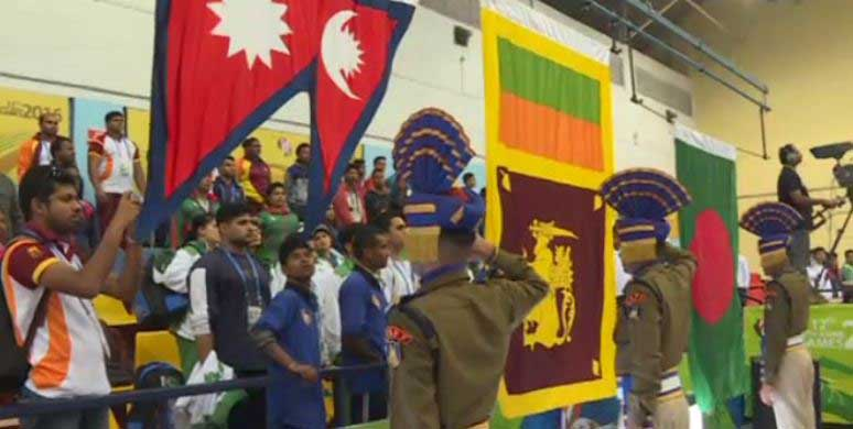 Sri Lanka wins Gold at SAG 2016