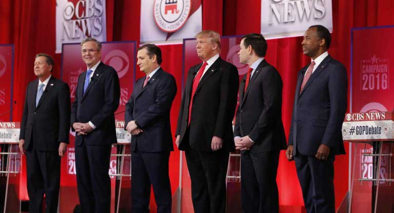 Justice Antonin Scalia's death heats up Republican debate