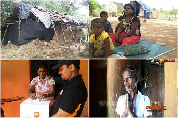 News1st Gammedda spotlights travails of the downtrodden from North to South