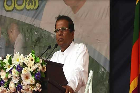 Public institutions must be people-oriented: President at Manampitiya event