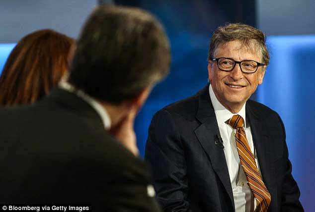 Bill Gates is named world's richest person again
