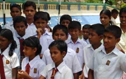 Govt schools re-open for second term
