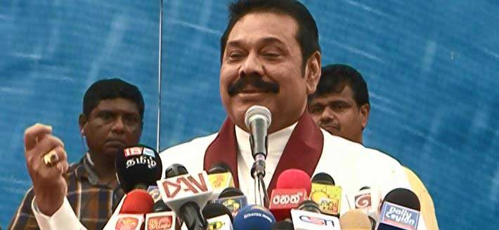 Former president Rajapaksa attends Kirulapone May Day rally
