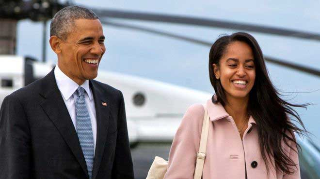 US president's daughter Malia Obama to go to Harvard