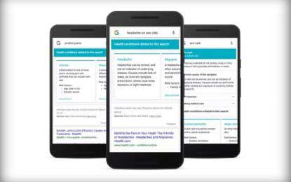 Google will help your self-diagnosis with new symptom search
