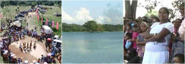 Sirasa TV – News1st change lives in Anuradhapura as rebuilding of Halamba Tank commences