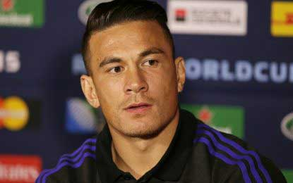 Sonny Bill Williams to stay with All Blacks until 2019