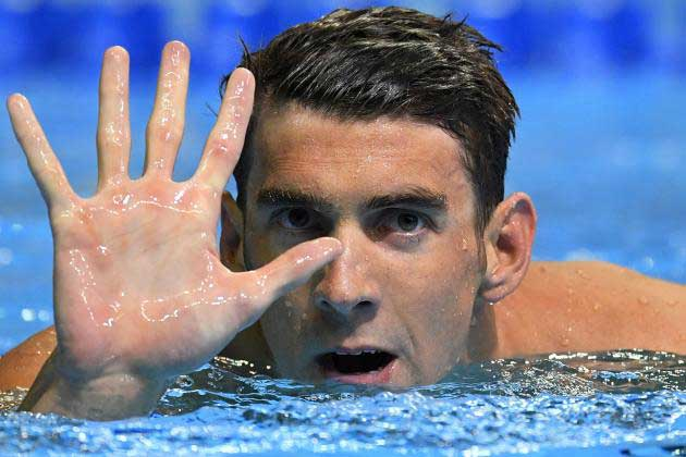 Michael Phelps becomes first male swimmer to qualify for 5 Olympics