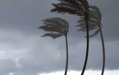 Winds to lash Colombo, Hambantota, Pothuwila