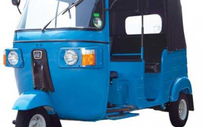 Three-wheelers with special safety feature awaiting approval