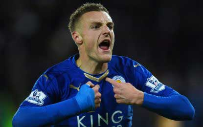 Vardy to remain in Leicester