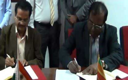 SLILG, Kerala Institute of Local Administration sign MoU