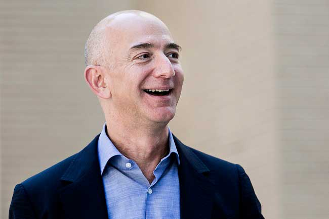 Founder of Amazon becomes third richest person