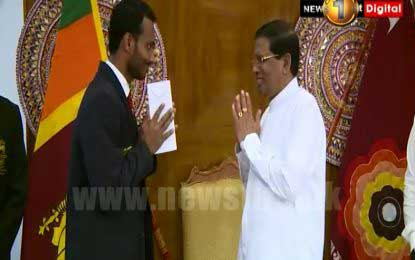 Lankan athletes competing in Rio Olympics meet the President