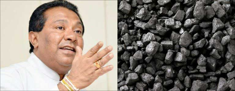 Min. S.B. Dissanayake traces root of 'coal scam' to previous govt.