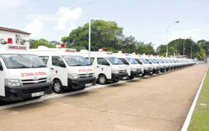 Emergency ambulance service supported by Indian govt
