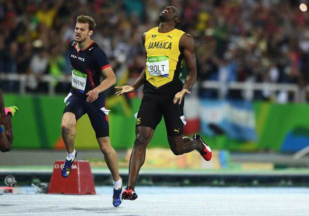 Breaking News : Bolt clinches his second Gold in Rio