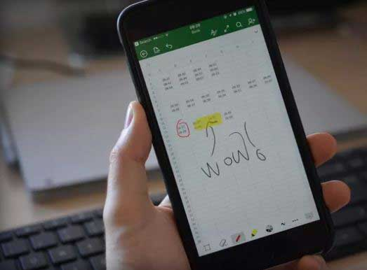 Microsoft brings Ink support in Office for iPhone Users