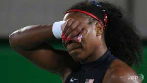 Serena Williams knocked out of the Olympics