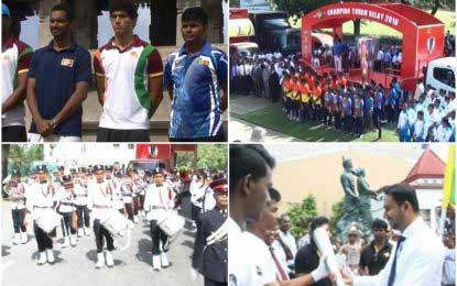 Wishes galore for SL sportsmen and women as Torch of Hope rally concludes
