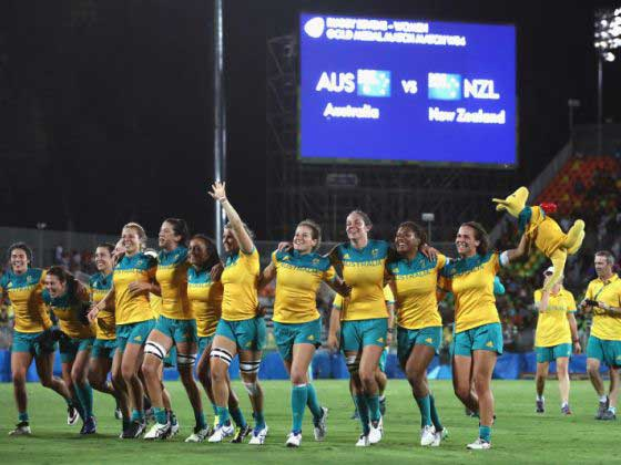 Rio 2016 : Aussies make history with rugby sevens gold