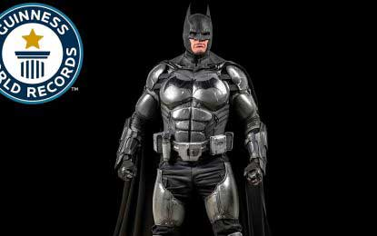 Batsuit with 23 working gadgets wins Guinness record