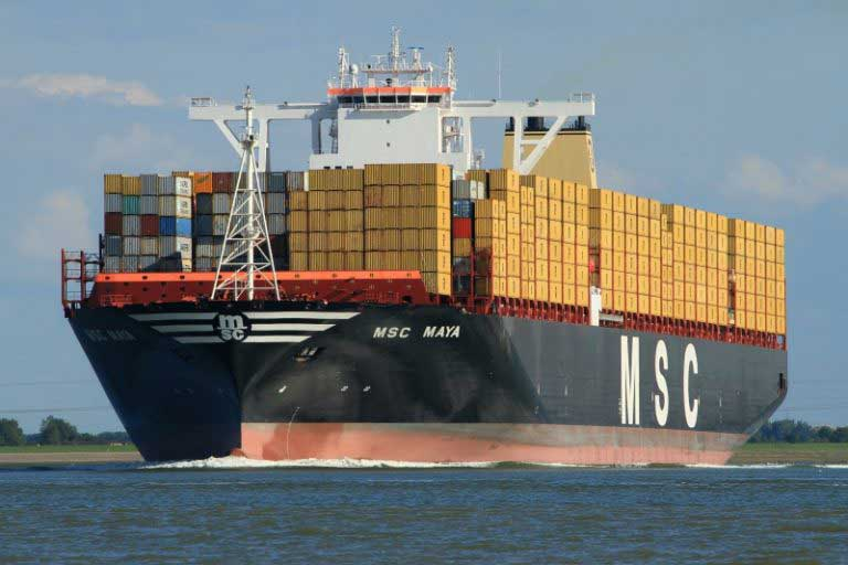 Colombo port awaits MSC Maya, one of the largest ships afloat