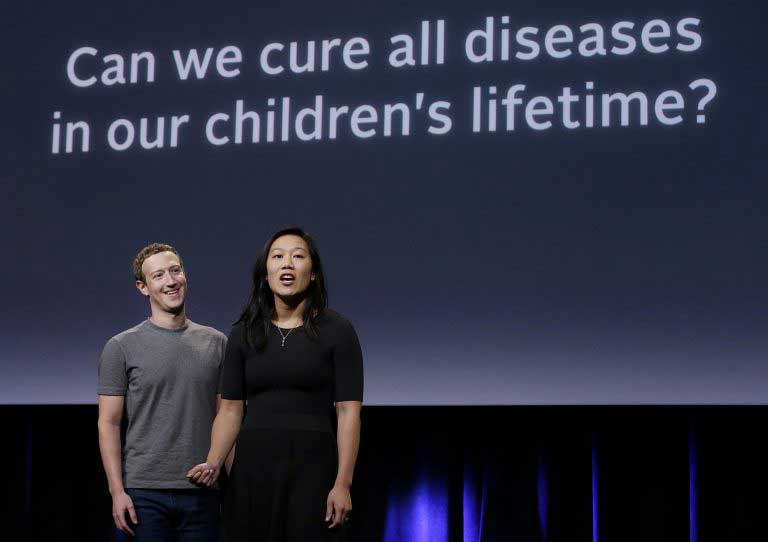 Zuckerberg and Chan pledge $3bn for medical research funding over the next decade