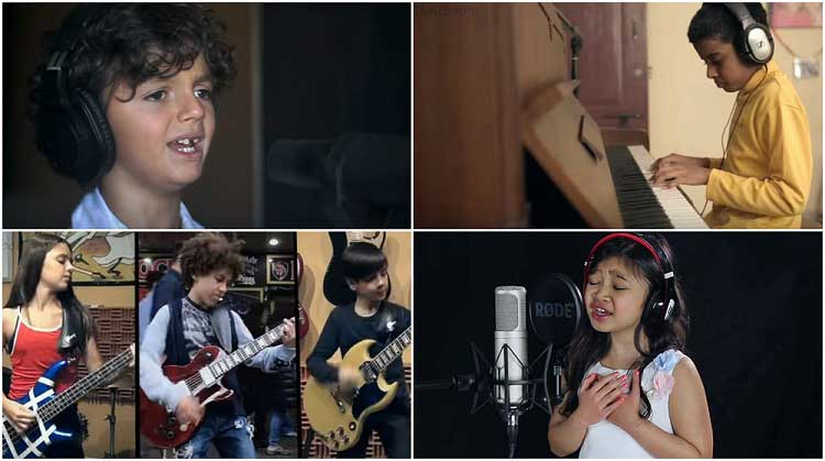 This wonderful cover of Michael Jackson's Heal The World by 45 children goes viral