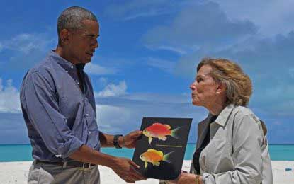 Scientists name new fish after Obama