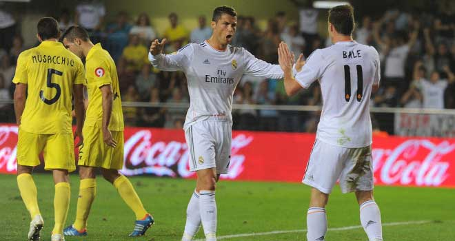 Villareal vs Real Madrid ends in draw