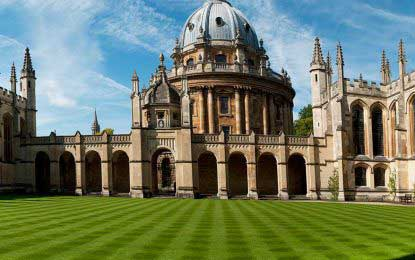 Oxford University leads Times Higher Education world university rankings