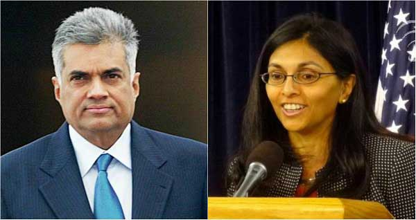 PM Wickremesinghe holds discussions with Nisha Biswal