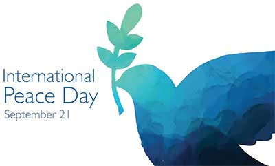 International Day of Peace marked today