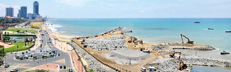 Colombo Port City Project – filling up operations commence