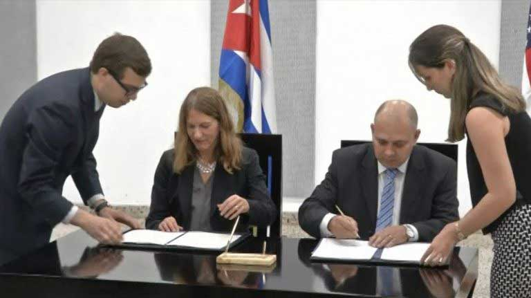 U.S, Cuba sign agreement in fight against cancer