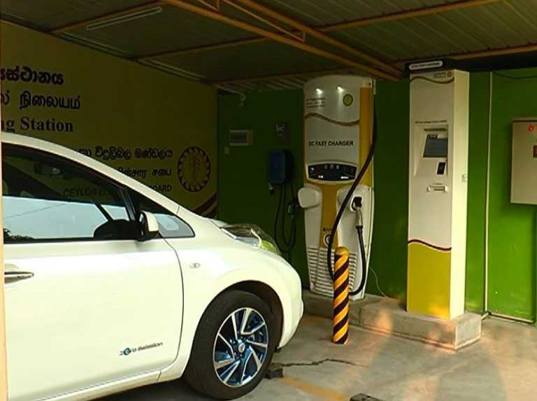 Charging station for electric cars declared open at Kelanitissa