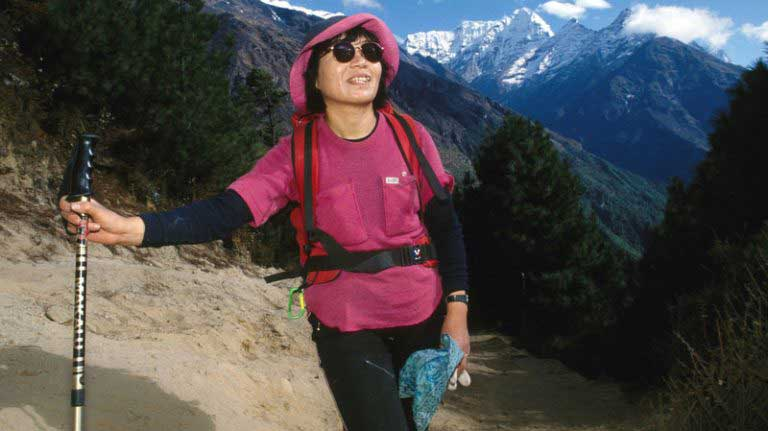 First woman to conquer Mount Everest, dies at 77