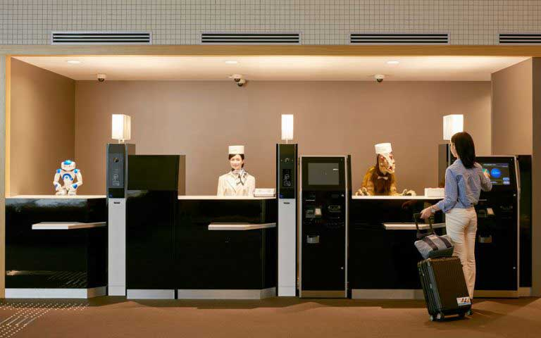 Robotic revolution : World's first robotic staffed hotel in Japan