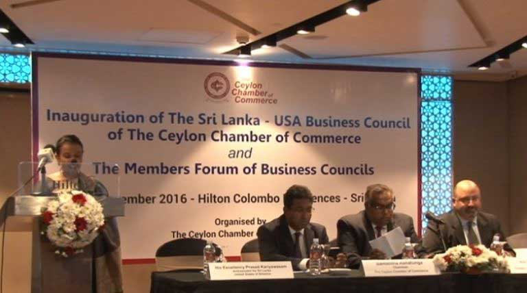 SL- USA Business Council, Members Forum of Business councils launched