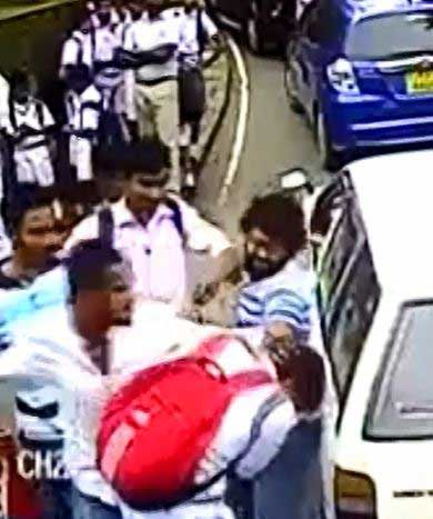 Four arrests made over assault on Dharmaraja College student