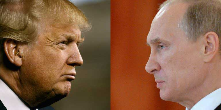 "Trump and Putin to ""normalise US-Russia ties"""