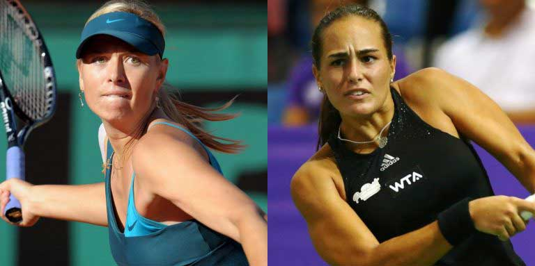 Maria Sharapova returns competitive tennis to face Monica Puig in Puerto Rico