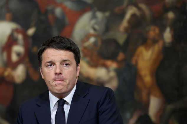 P.M Matteo Renzi resigns after defeat in Constitutional reform referendum