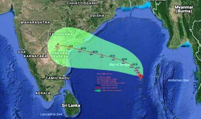 EXTREME WEATHER: Colombo, Chennai flights diverted as Cyclone Vardah makes it's way