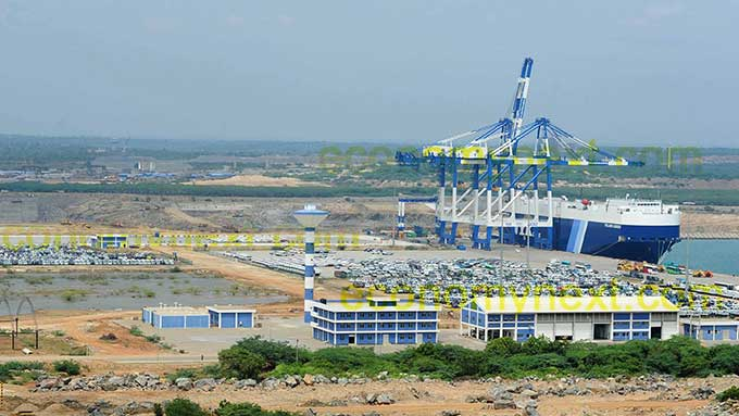 Work on the Hambantota Port Development Project – Stalled