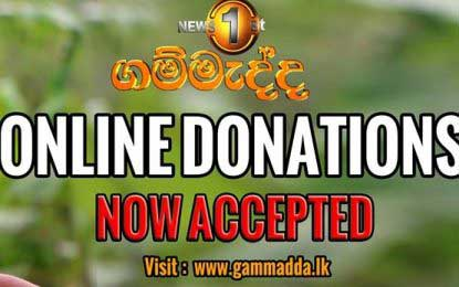 Gammadda goes global – philanthropists able to reach out via online donations