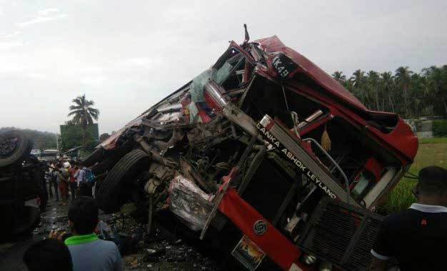 Two killed, several injured in Pasyala accident
