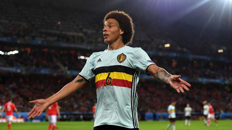 Axel Witsel completes move to China