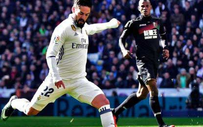 Real Madrid thrash Granada with a 5-goal victory